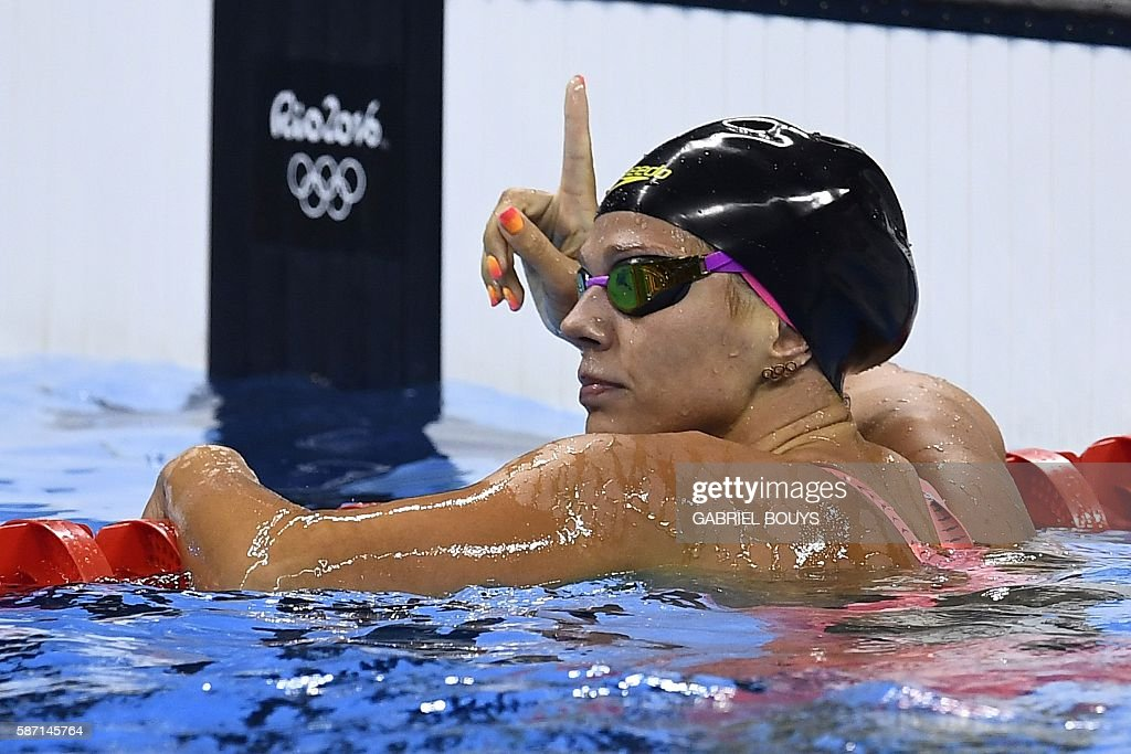 SWIMMING-OLY-2016-RIO : News Photo