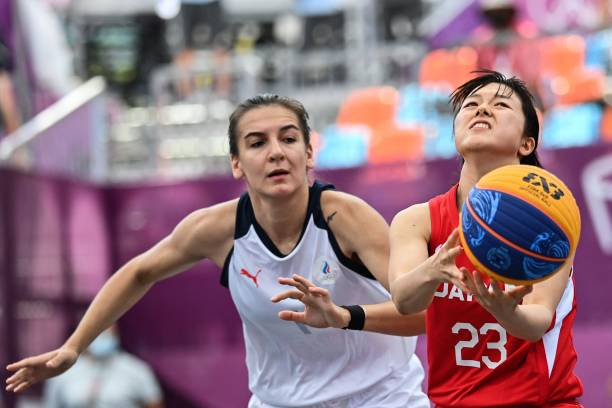 JPN: 3x3 Basketball - Olympics: Day 1