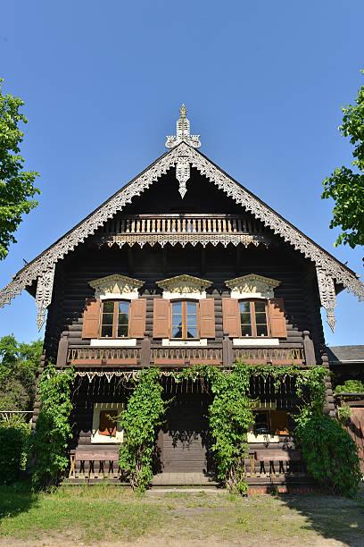 Russsiches Holzhaus Potsdam Deutschland