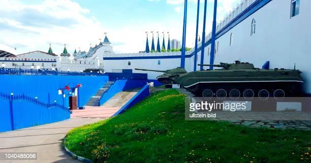 """Russland Moskau Stadtbezirk Ismailowo Museumskomplex """"Reservegefechtsstand des Obersten Befehlshabers der Roten Armee I W Stalin während des Grossen..."""