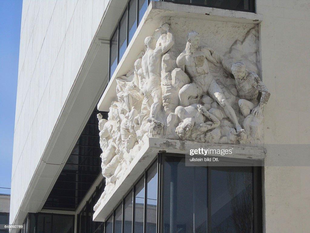 Fries Architektur rostow am don hochrelief am fries der fassade des theaters m gorki