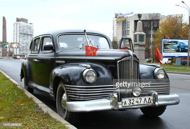 Russland St Petersburg der sowjetische Repräsentationswagen ZIS110 Produktionszeitraum 1945 – 1958 Hersteller Automobilfabrik I W Stalin in Moskau...