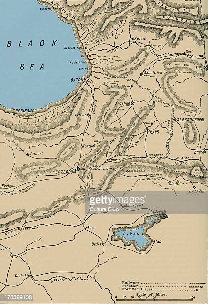 Seat of war in Armenia Conflict between the Ottoman Empire and the Eastern Orthodox coalition led by the Russian Empire and composed of numerous...