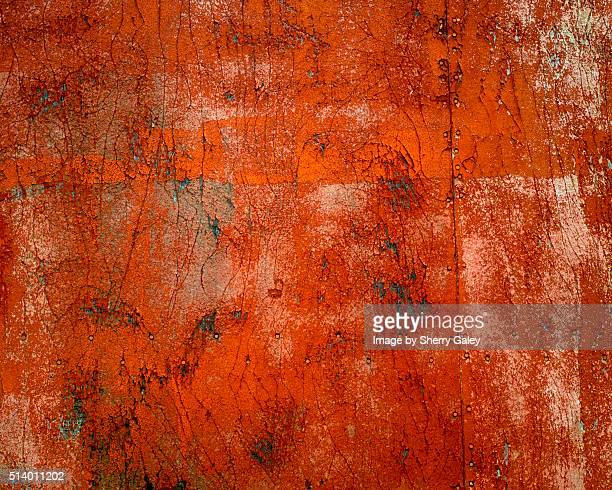 Rust colored surface