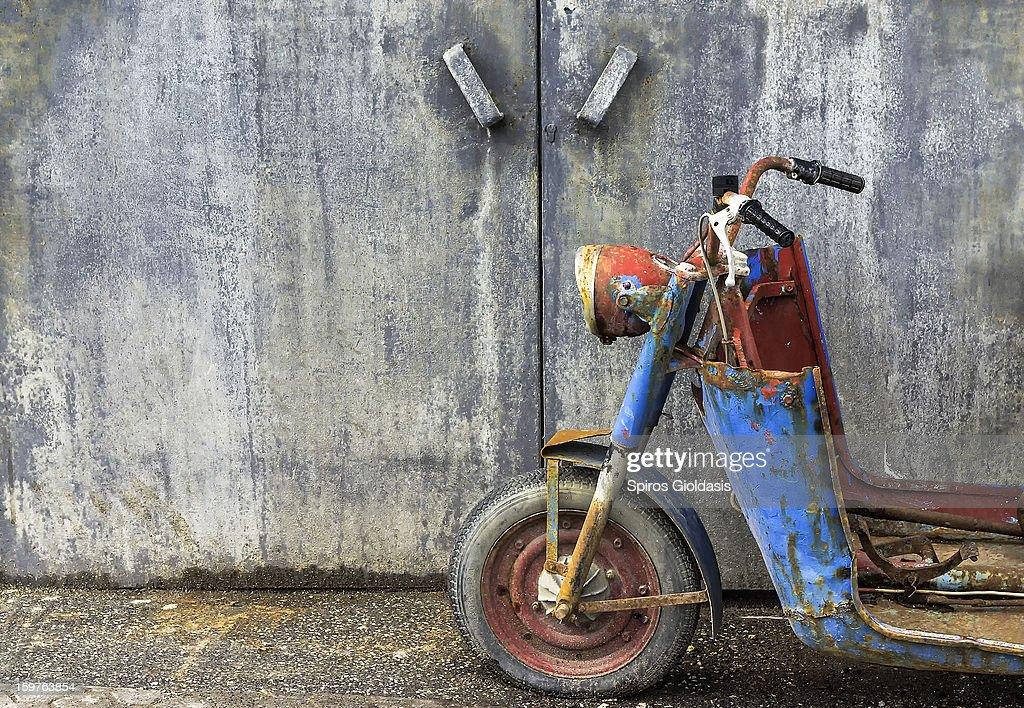 rust in peace : Stock Photo