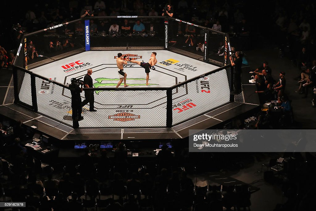 UFC Fight Night: Overeem v Arlovski : News Photo