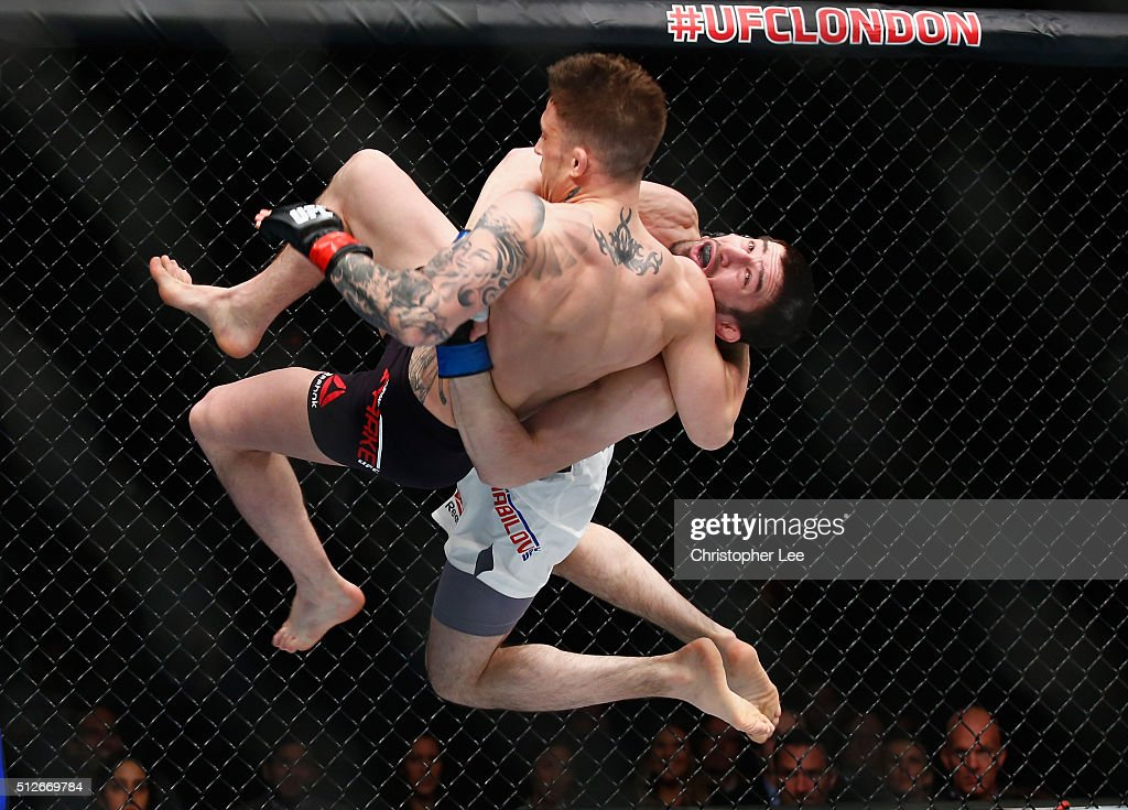 UFC Fight Night: Silva v Bisping : News Photo