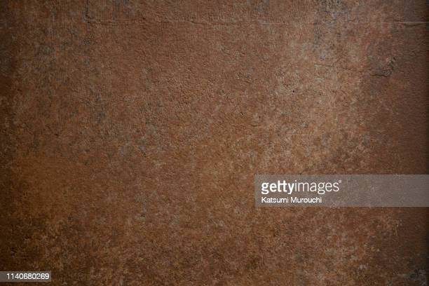 rusted iron plate texture background - 鉄 ストックフォトと画像