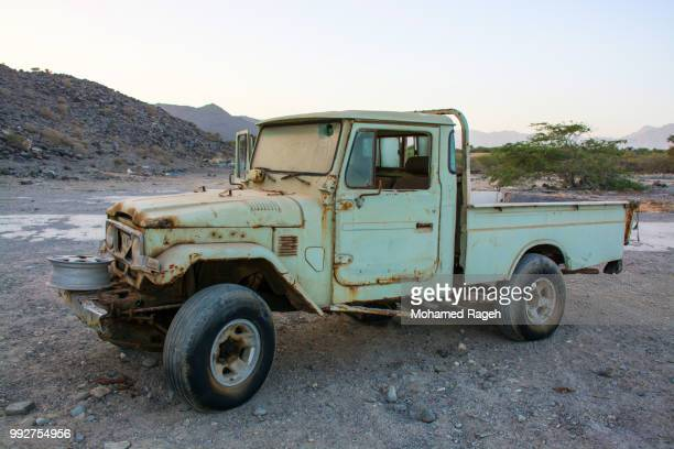 rusted legend - old truck stock pictures, royalty-free photos & images