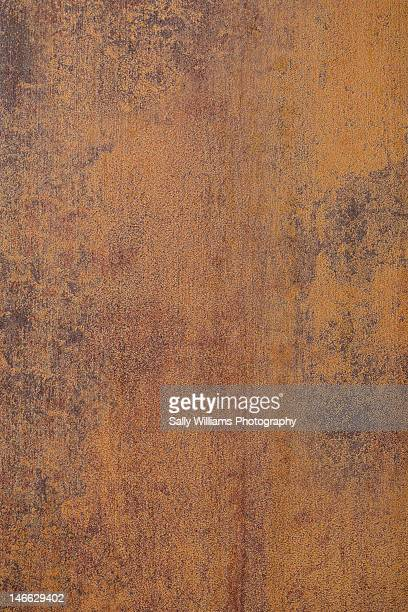 A rusted metal background