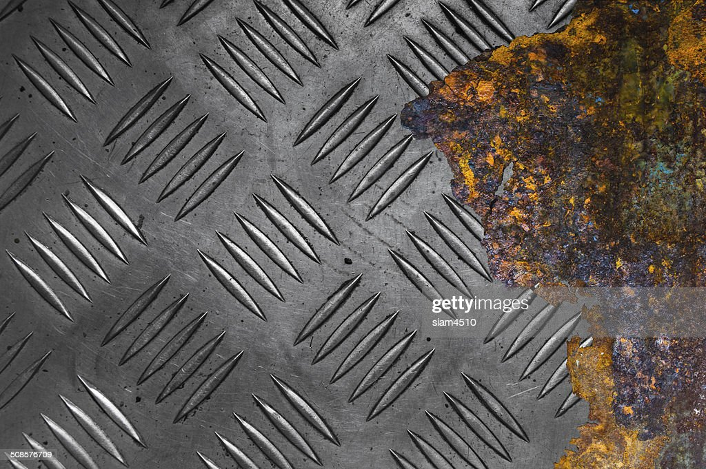 Rusted metal background : Stock Photo
