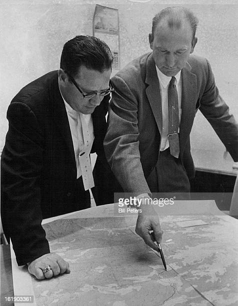 OCT 11 1961 OCT 17 1961 Rusted Safe Solves Theft A rusty safe found at the bottom of a mineshaft near Central City has solved the $22000 GanoDowns...