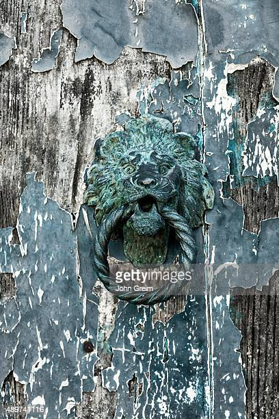 MURANO VENEZIA VENETO ITALY Rustic and worn door knock