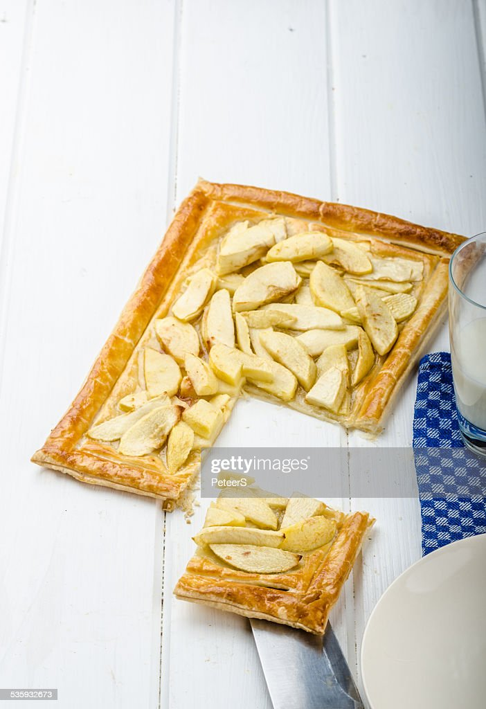 Rustic Apple Tart : Stock Photo