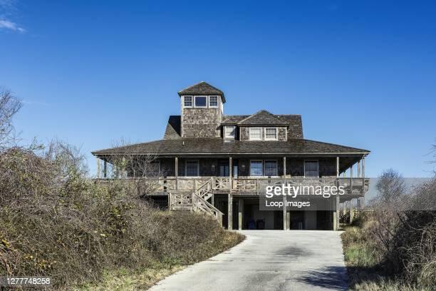 Rustic beach house in Kitty Hawk.