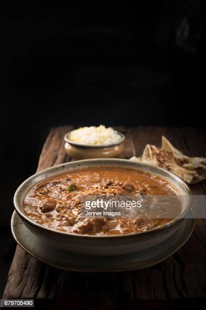 Rustic Bowl Of Lamb Curry.
