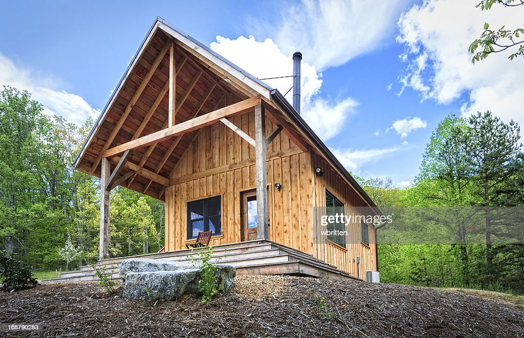 Rustic Cabin in the Blue Ridge Mountains : Stock Photo
