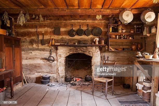 Rustic Cabin Interior