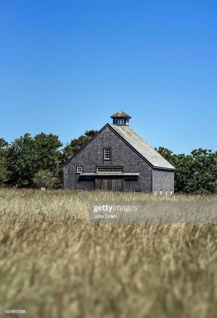Rustic Cedar Shingle Barn