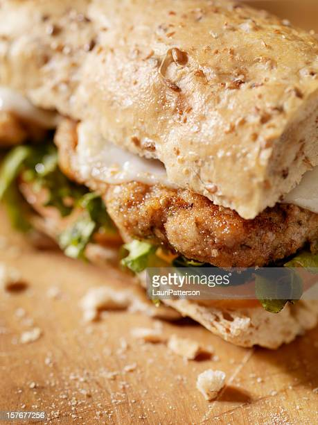 Rustic Chicken Cutlet Sandwich