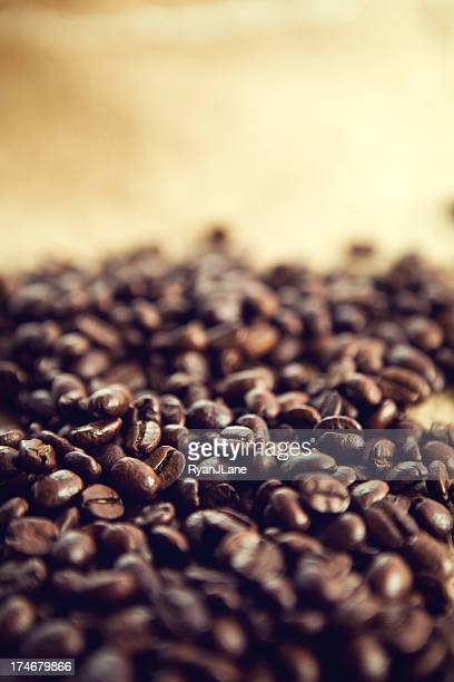 Rustic Coffee Crop with Copy Space