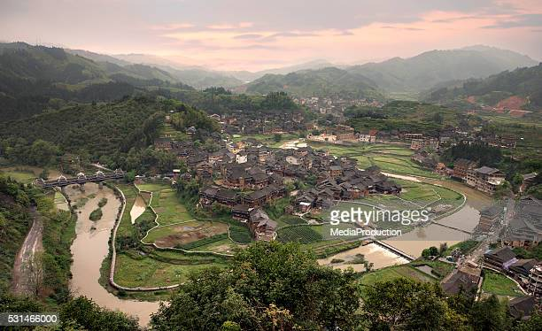 Rustic Dong village Chengyang