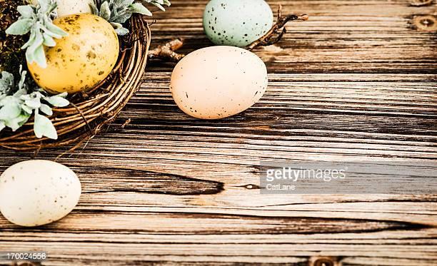 Rustikale Ostern