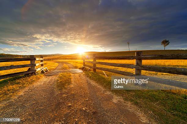 rustic farm - horizontal stock pictures, royalty-free photos & images