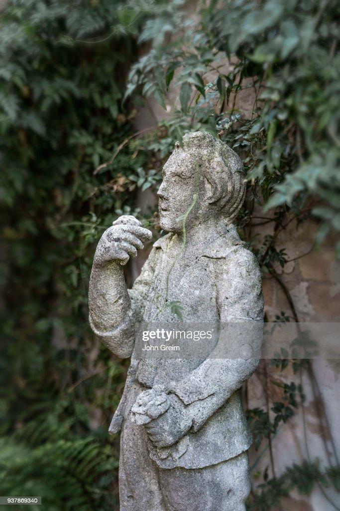 Rustic Garden Statue.