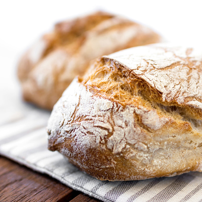 Rustic loaf of bread 546464434