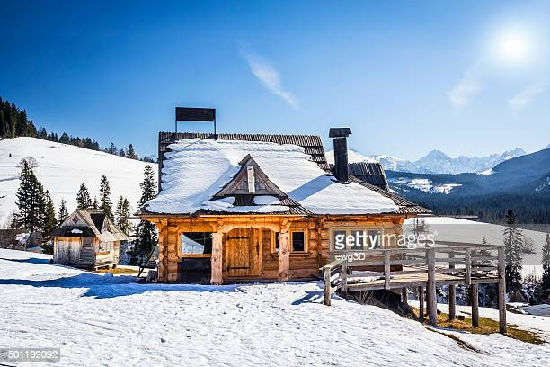 Rustic pub in Tatra Mountains, Poland