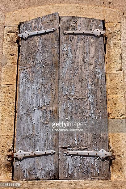 Rustic Window Shutters Venterol France