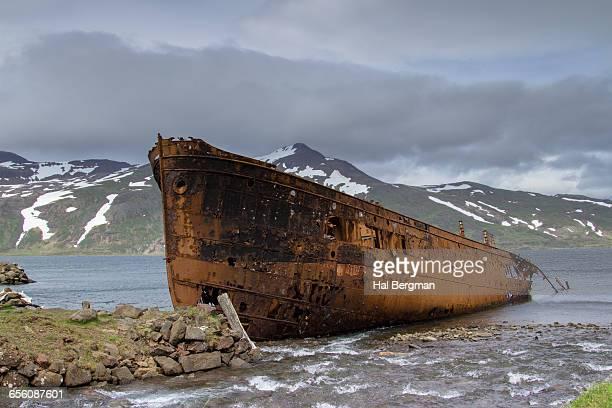 Rusting Shipwreck, Djupavik, Iceland