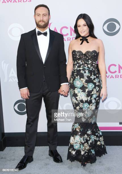 Ruston Kelly and Kasey Musgraves arrive at the 52nd Academy of Country Music Awards held at TMobile Arena on April 2 2017 in Las Vegas Nevada
