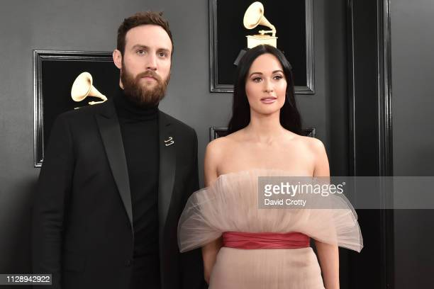 Ruston Kelly and Kacey Musgraves attend the 61st Annual Grammy Awards at Staples Center on February 10 2019 in Los Angeles California