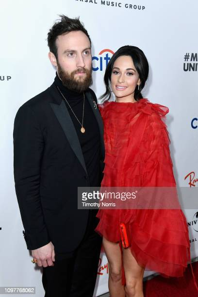 Ruston Kelly and Kacey Musgraves attend Universal Music Group's 2019 After Party Presented by Citi Celebrates The 61st Annual Grammy Awards on...