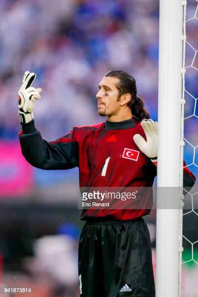 Rustu Recber of Turkey during the world cup match between Japan and Turkey at Miyagi Stadium in Rifu Japan on june 18th 2002
