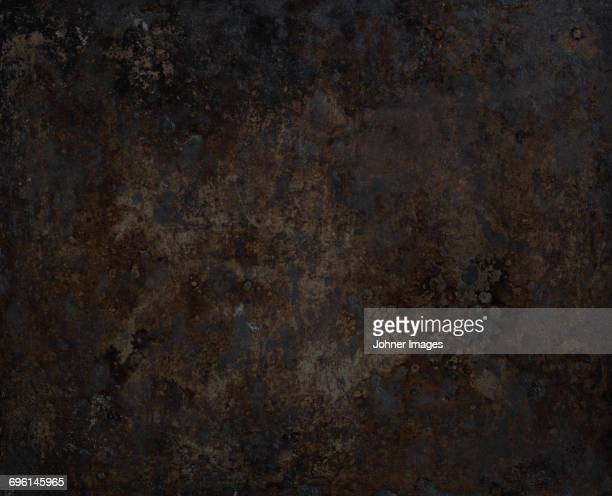 rusty baking plate - baking sheet stock pictures, royalty-free photos & images