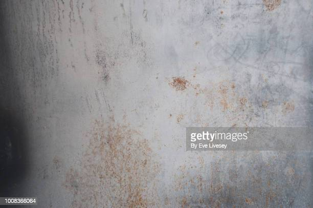 rusty boat texture - metallic stock photos and pictures
