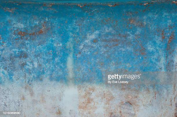rusty boat texture - rusty stock pictures, royalty-free photos & images