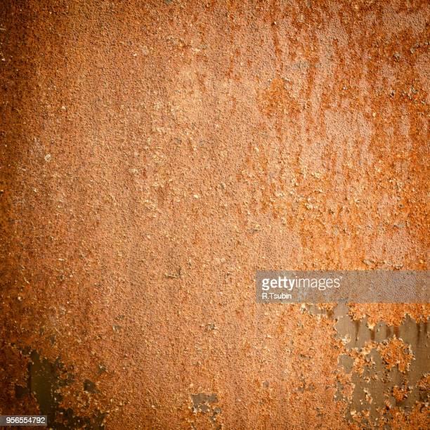 Rusty dark grunge texture metal background