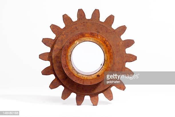 rusty engranajes, metal pesado
