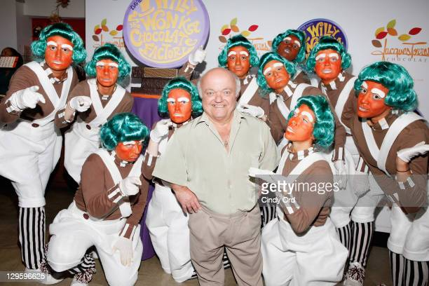 Rusty Goffe who starred in the original version of the film attends the 40th Anniversary of Willy Wonka The Chocolate Factory at Jacques Torres...