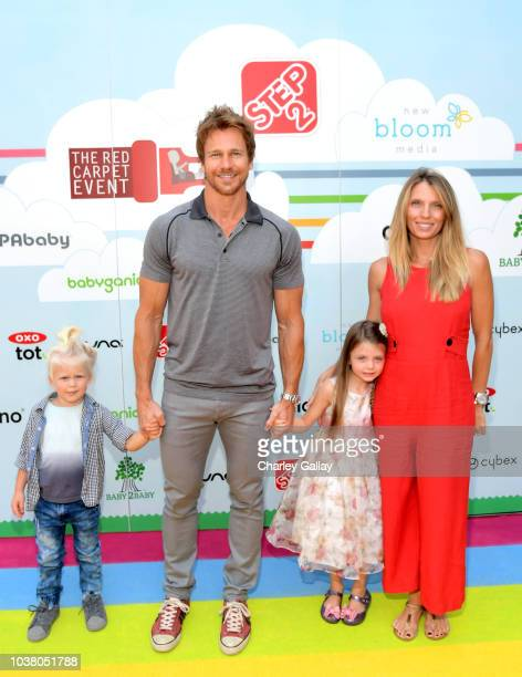 Rusty Joiner and Charity Walden attend Step2 Presents 7th Annual Celebrity Red CARpet event by New Bloom Media Benefitting Baby2Baby at Sony Pictures...