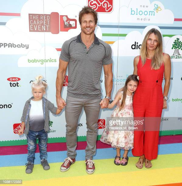 Rusty Joiner and Charity Walden attend Step2 Presents 7th Annual Celebrity Red CARpet Event by New Bloom Media Benefiting Baby 2 Baby at Sony...
