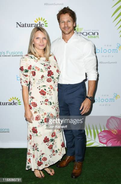 Rusty Joiner and Charity Walden attend the 2nd Annual Bloom Summit at The Beverly Hilton Hotel on June 01 2019 in Beverly Hills California