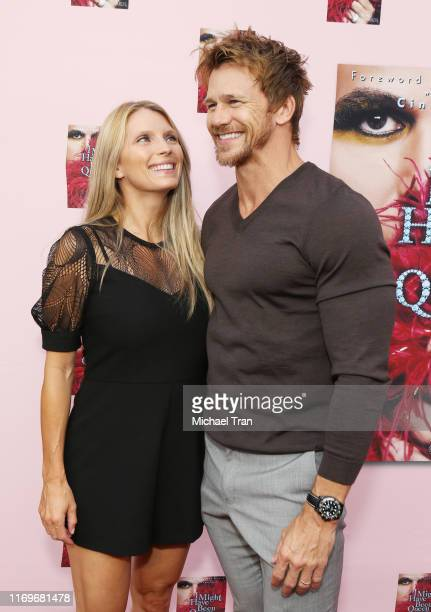 Rusty Joiner and Charity Walden attend the Brian Edwards book release event held at The Malibu Lumber Yard on August 22 2019 in Malibu California