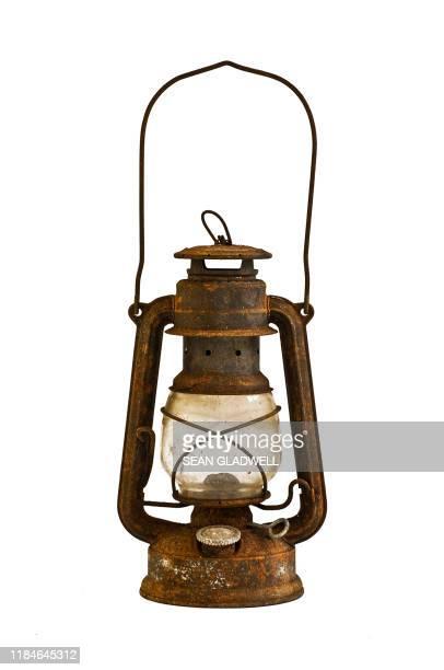rusty lamp - ランタン ストックフォトと画像