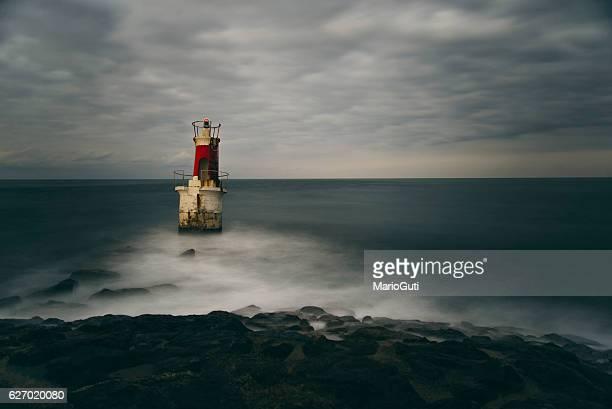 Rusty lighthouse