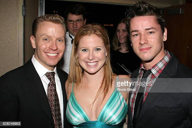 Rusty Mowery Michelle Kitrell and Adam Fleming during Opening Night After Party for Jersey Boys on Broadway at The August Wilson Theater and The...